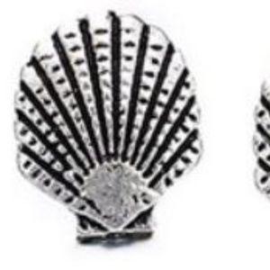 5/$24 Pair of Seashell Post Earrings